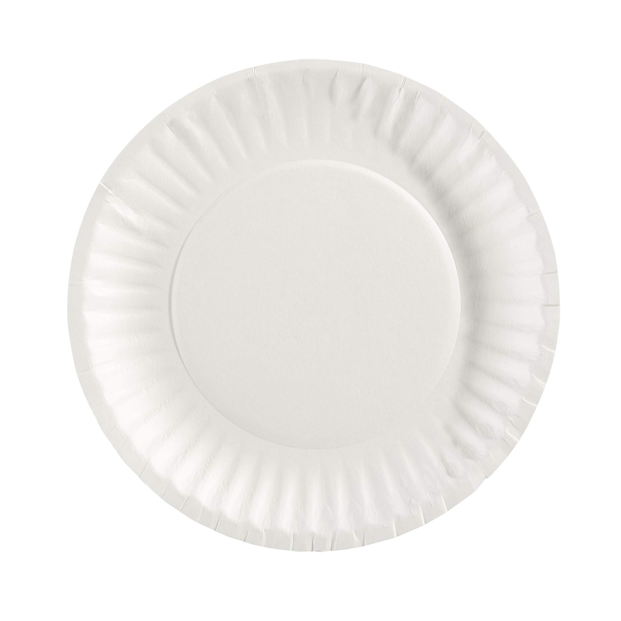 Dixie 6in Light-Weight Paper Plates by GP PRO (Georgia-Pacific), White, 702622WNP6, 1,000 Count (500 Plates Per Pack, 2 Packs Per Case)
