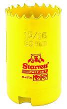 "Starrett FCH0156-G HSS FASTCUT HOLESAW 1-5/16"" (33MM)"