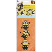 Wilton 16 Count Despicable Me 3 Minions Treat Bags, Assorted