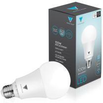 Triangle Bulbs T95143, LED Dimmable 100 Watt Equivalent 5000K Daylight Light Bulbs, 4-PACK