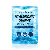 Masqueology - Hyaluronic Gummy Modeling Mask | Moisturizes, Smoothes and Firms Face (1 Count)