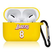 Oqplog for AirPod Pro/3 Case, Protective Soft Silicone Cute Fashion Cover for Teens Men Boys Air Pods, Shockproof Sports Stylish Cool Design Skin Accessories Cases for Airpods 3 - Yellow Number 8