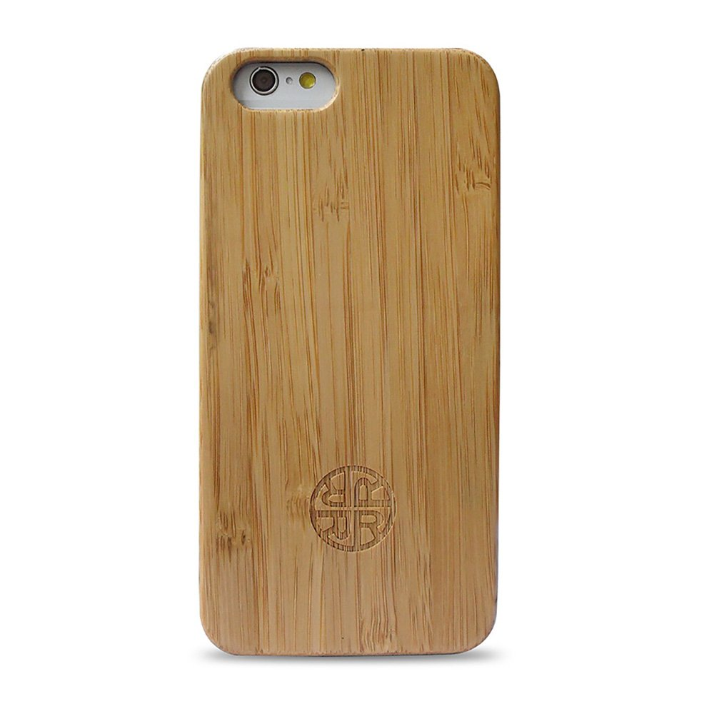 Case Compatible with iPhone 7/8 - Zen Garden Bamboo Case by Reveal - Eco-Friendly Bamboo Wood Design (Bamboo)