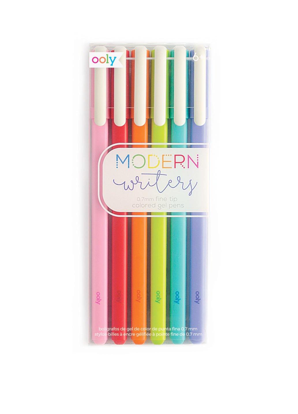 OOLY,  Modern Writers Gel Pens, Set of 6