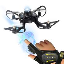 TongLi HJ835 Remote Control Indoor Hand Sensor Operated Foldable FPV Quadcopter RC Mini Drones for Adults, Teens and Kids Beginners Live Video Altitude Hold
