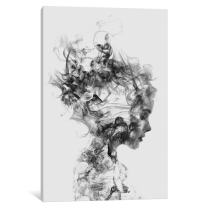 "iCanvasART iCanvas Dissolve Me Gallery Wrapped Canvas Art Print by Dániel Taylor, 26"" x 18"""
