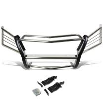 DNA Motoring GRILL-G-003-SS Front Bumper Brush Grille Guard,Silver