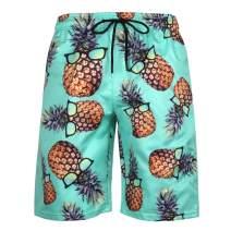 PIZOFF Men's Quick Dry Board Shorts Summer Swim Trunks Beachwear Shorts Mesh Lining