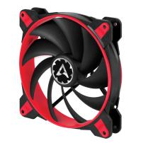 ARCTIC BioniX F140-140 mm Gaming Case Fan with PWM PST | Cooling Fan with PST-Port (PWM Sharing Technology) | Regulates RPM in sync - Red, Fan Speed: 200-1800 RPM