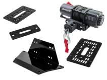 No Winch Included SuperATV Heavy-Duty Winch Mounting Plate for Kawasaki Teryx KRX 1000 2020+