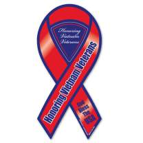 Vietnam War Veterans Ribbon Magnet
