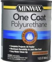 Minwax Semi-Gloss 356150000 One Coat Polyurethane Quart 1