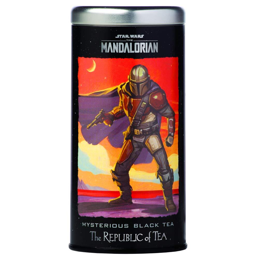 The Republic of Tea - Star Wars: The Mandalorian - Mysterious Black Tea, Caffeinated, 36 Tea Bags