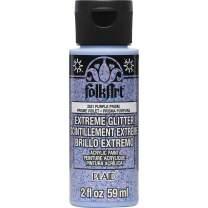 FolkArt 2831 Extreme Glitter Purple Prism Paint, 2 oz, 2 Fl Oz