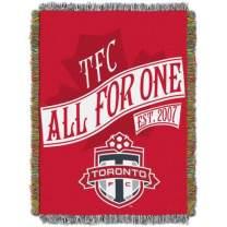 "Officially Licensed MLS Orlando City SC ""Handmade"" Woven Tapestry Throw Blanket"