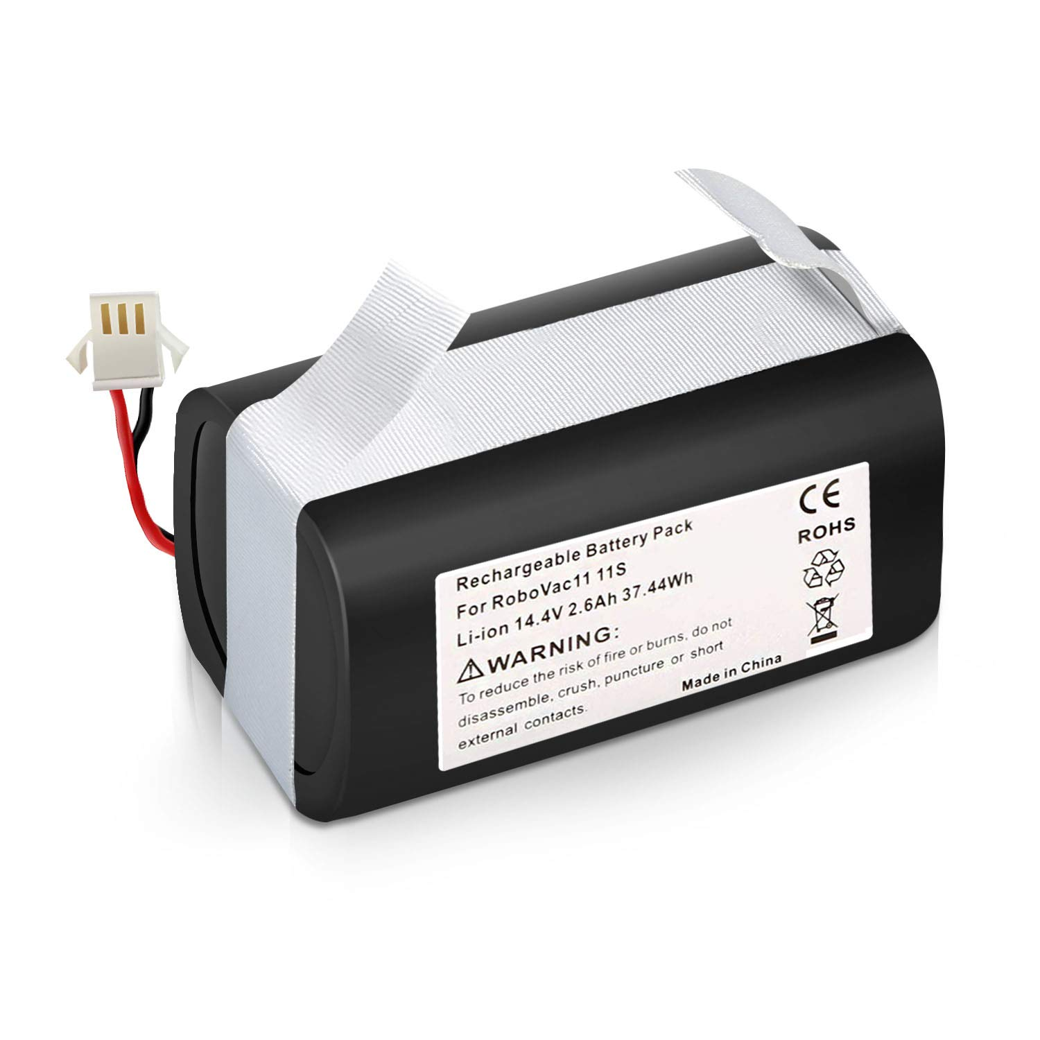 RoboVac 35C RoboVac 11S RoboVac 11 RoboVac 15C,RoboVac 12 RoboVac 30 Amityke RoboVac 14.4V 2600mAh Li-ion Rechargeable Battery Compatible with Deebot N79S Deebot DN622