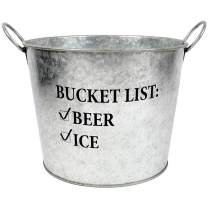 """DEI List Bucket, 10"""" Dia, Multicolored"""