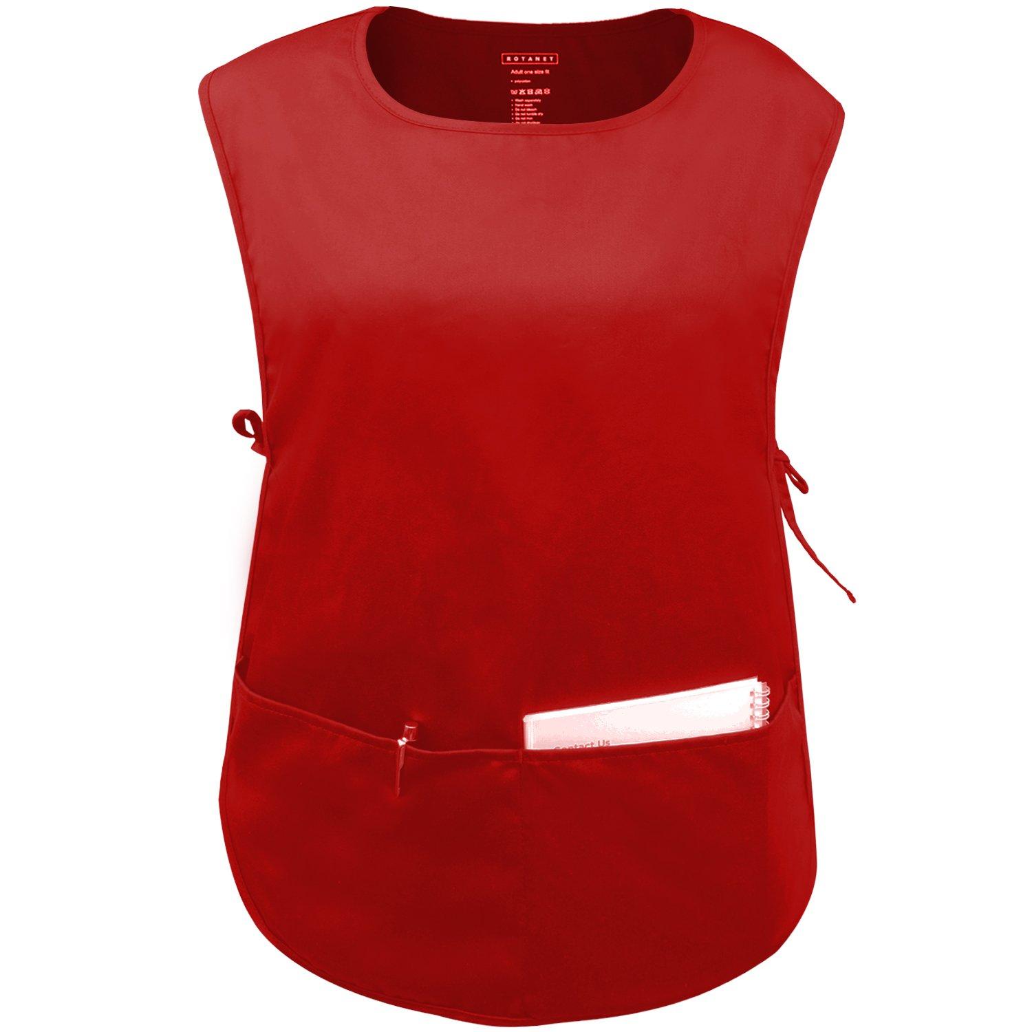 ROTANET Unisex Cobbler Apron - Adjustable Ties/2 Pockets(available in 3 colors)