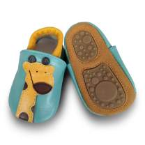 Infant Baby Soft Soles Leather Shoes Toddler Boys Girls Pre Walker Shoes Crawling Slippers