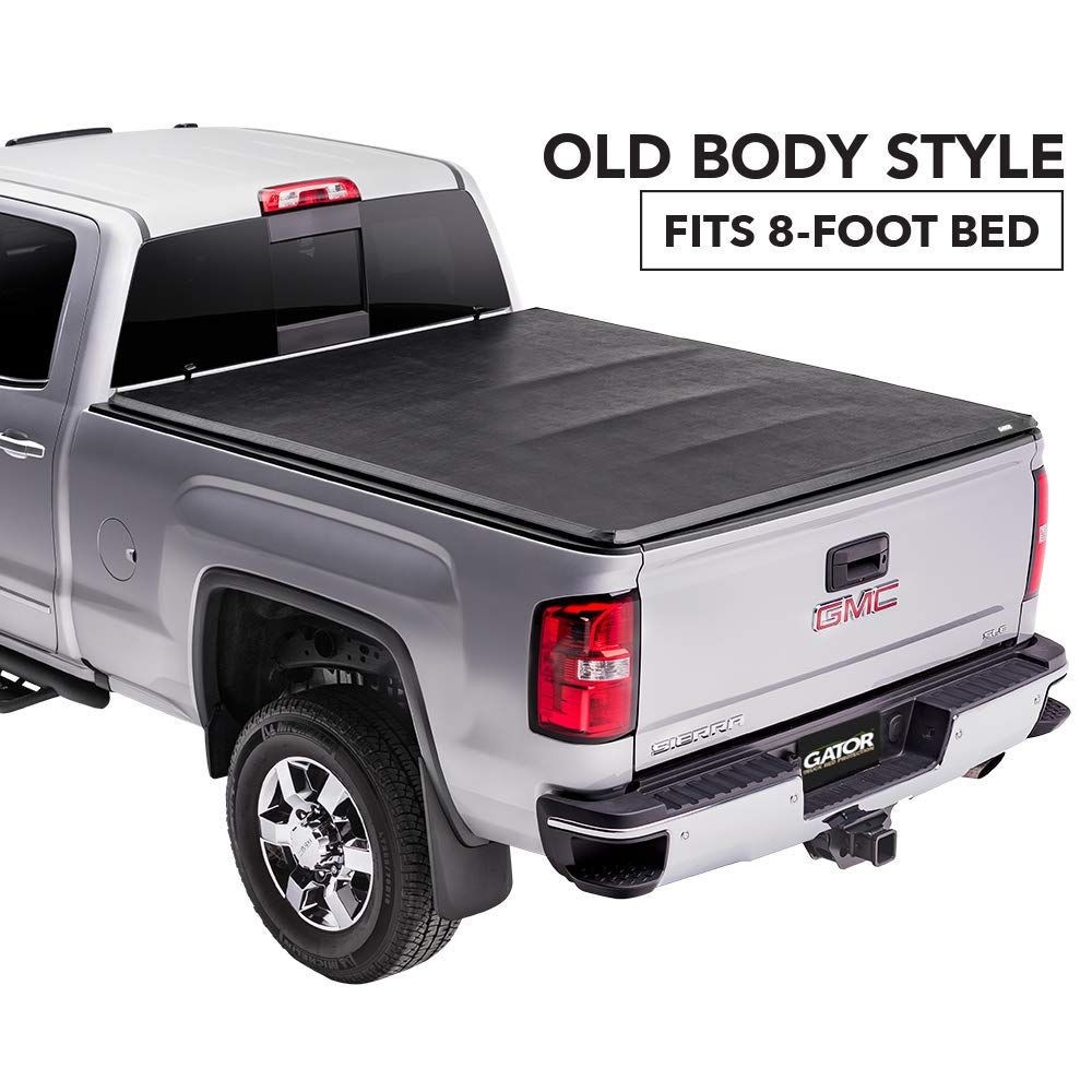 Gator Etx Soft Tri Fold Truck Bed Tonneau Cover 59111 Fits 2014 2018 2019 Ltd Lgcy Chevy Gmc Silverado Sierra 1500 8 Bed Made In The Usa