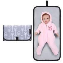 ELENTURE Diaper Changing Pad, Baby Infant Portable Travel Changing Station Mat Bag
