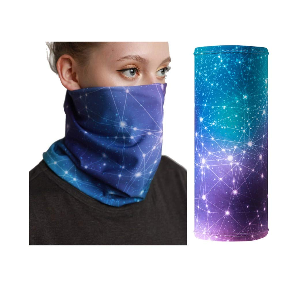 Neck Gaiter UV Protection Cycling face mask Women Men Biker Snowboarding Bandana Mask face Cover Balaclava face Scarf