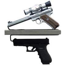 Liberty Safe - Over and Under Shelf Vinyl Coated Handgun Holder (2 Pack)