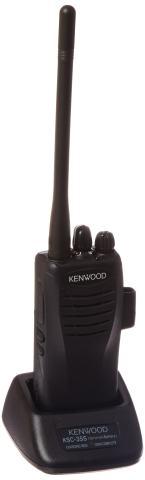 Kenwood TK-2402V16P VHF 5 Watt 16 Channel with Li-Ion Battery, 136-174 MHz, Black