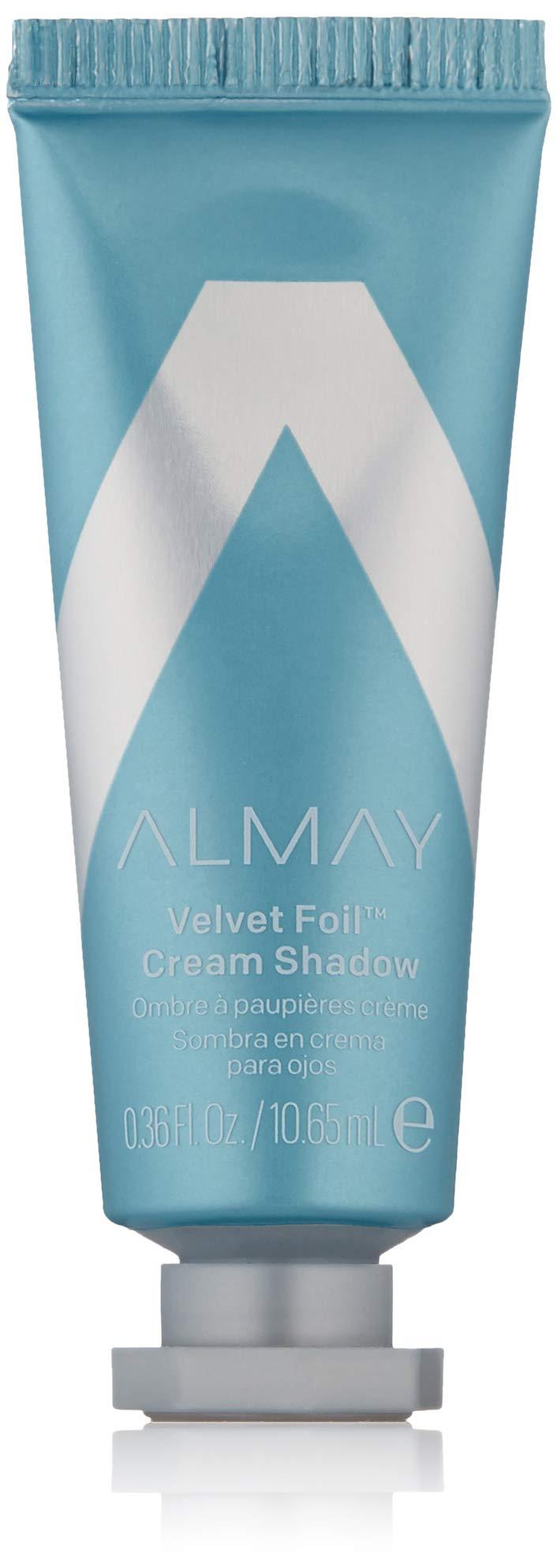 Almay Velvet Foil Cream Shadow, Infinite Sky, 0.36 fl. oz, metallic eyeshadow