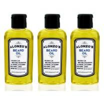 All Natural Beard Oil For Men - 2 Ounces (3-Pack)