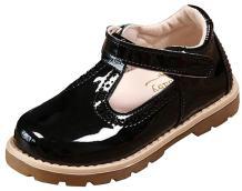 DADAWEN Girl's T-Strap School Uniform Dress Shoe Mary Jane Princess Flat