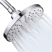 Aisoso High Pressure Shower Head 6 Inch Rain Modern Luxury Showerhead Chrome Plated for Easy Replacement Your Bathroom Shower Heads