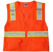 ML Kishigo 1164 Ultra-Cool Mesh Back Solid Front Vest, 4X-Large, Orange