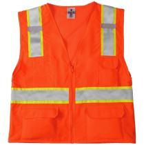 ML Kishigo 1164 Ultra-Cool Mesh Back Solid Front Vest, 2X-Large, Orange