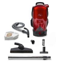 8 Qt Commercial Cordless Battery Powered Backpack Vacuum and Blower