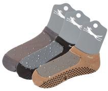 Shashi Star Women's Glitter Mesh Grip Socks Pilates Barre Yoga Non-Slip Socks 3-Pack Regular Toe