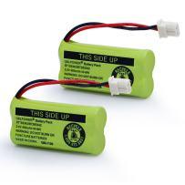 QBLPOWER BT183342 BT283342 BT166342 BT266342 BT162342 BT262342 Battery Compatible with VTech CS6114 CS6419 CS6719 AT&T EL52300 CL80111 Cordless Phone(Pack of 2)