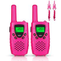 FAYOGOO Toys for 3-12 Years Old Boys, Kids Toys 3 Mile Long Range Kids Walkie Talkies Blue, 2019 Best Gift Toys for 3 4 5 6 7 8 9 Year Old Boy and Girls