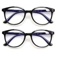 Computer Reading Glasses Blue Light Blocking Anti Eye strain Eyeglasses for Women and Men