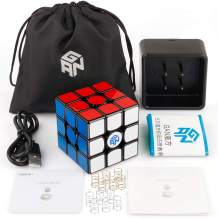 D-FantiX Gan 356i Smart Cube Gans 356 I 3x3 Speed Cube Gan I Bluetooth Magnetic Cube Online Real-time Battle Intelligent Timing Tracking Movements with Cube Station App
