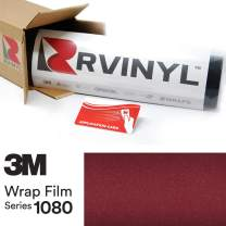 3M 1080 GP99 Gloss Black Rose 5ft x 19ft W/Application Card Vinyl Vehicle Car Wrap Film Sheet Roll