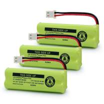 GEILIENERGY BT183482 BT283482 Ni-MH Cordless Phone Battery Compatible with Vtech DS6401 DS6421 DS6422 DS6472 LS6405 LS6425 LS6426 LS6475 LS6476 89-1348-01-00(Pack of 3)