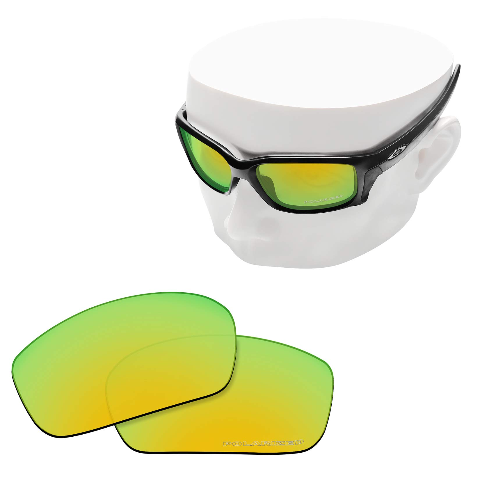 OOWLIT Replacement Lenses Compatible with Oakley Straightlink Sunglass