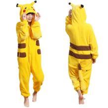 SSJ Kigurumi Pikachu Style Costume [Yellow for Kids] Pajamas