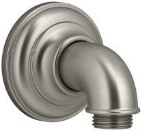 KOHLER K-72796-BN Artifacts Wall-mount supply elbow, Vibrant Brushed Nickel