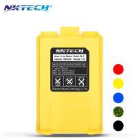 NKTECH BL-5 1800mAh 7.4V Li-ion Battery UV-5R Battery for BaoFeng Pofung UV-5R V2 Plus PRO DM-5R UV-5RA BF-F8HP BF-F9 V2 UV-5R5 UV-5X3 UV-5RE Plus UV-5RTP TYT TH-F8 (Yellow)