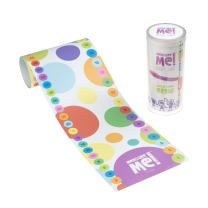 Measure Me! Baby Roll-up Growth Height Chart for Children Kids Room - Spotty Dotty