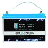 Mighty Max Battery 12V 100AH Lithium Replacement Battery for SunnyWay SW12380W Brand Product