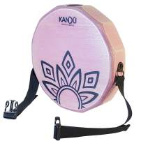 KTÄK -The First Handcrafted, Hand Drum Percussion, Two-Sound Cajón Body Snare, Portable Cajon by Kandu (Crazy Pink)