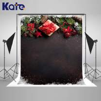 Kate 5×7ft Christmas Theme with Dark Abstract Photography Backdrop Xmas Portrait Background Photo Studio Props